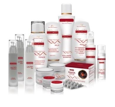Kosmetik mit natürlichem Kollagen - Natural Collagen Inventia