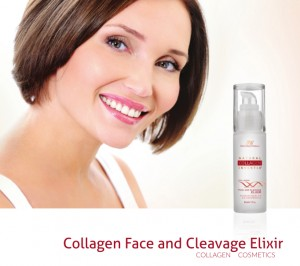 Natural Collagen Inventia Face&Cleavage Serum gegen Falten